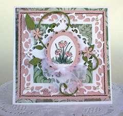 """Spring Flowers"" Card"