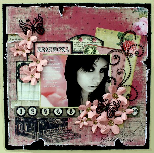 """Beautiful *Scrap That GDT February Kit """"With Love""""*"""