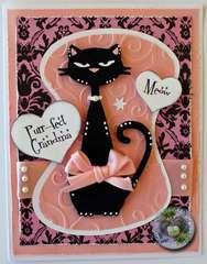 """""""Purr-fect Grandma"""" Card"""