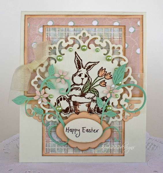 """Happy Easter"" Card"