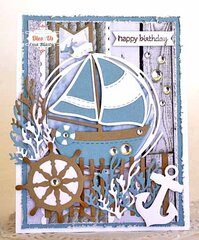 A Nautical Happy Birthday