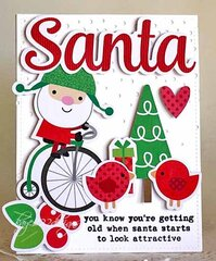 Santa Looking....