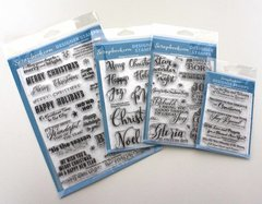 Scrapbook.com Brand New Clear Acrylic Designer Stamps