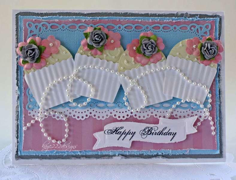 """Shabby Chic Birthday"" Card"
