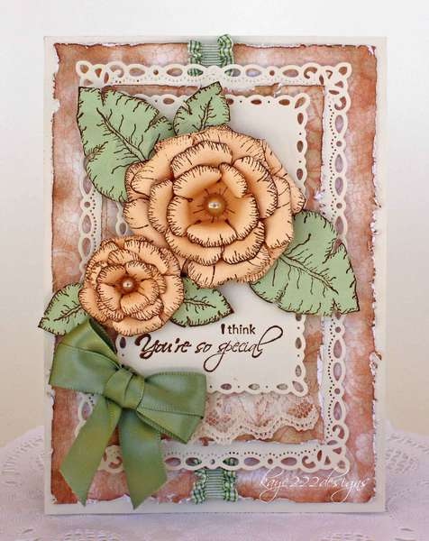 """You're So Special"" Card *Heartfelt Creations*"