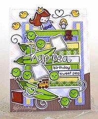 Hap-Pea Birthday Sweet Pea
