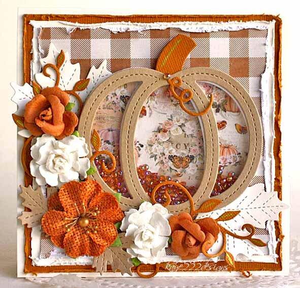 Thanksgiving Shaker Card