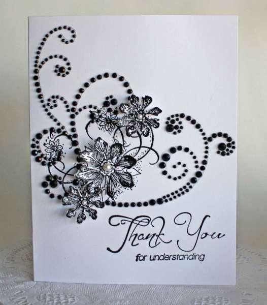 """Thank You For Understanding"" Card *Heartfelt Creations*"
