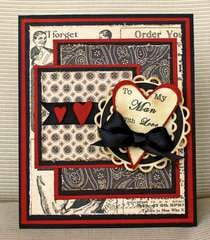 """""""To My Man...With Love"""" Card"""