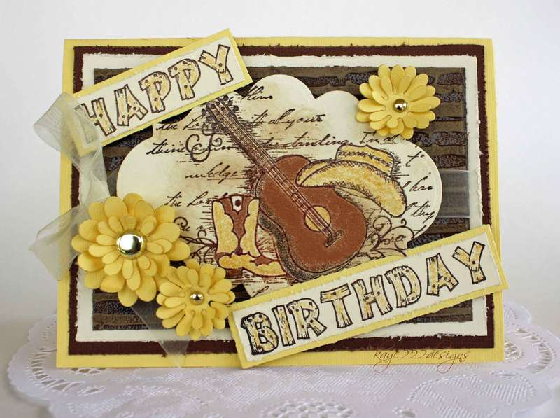 """Western Birthday"" *Heartfelt Creations*"