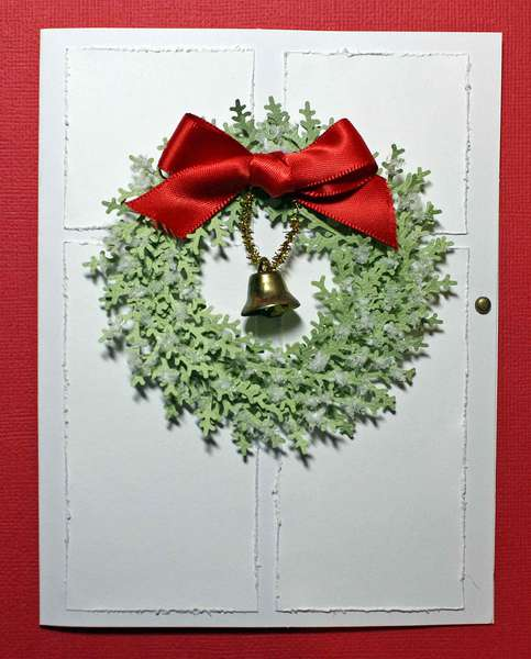 """Christmas Door"" Card"