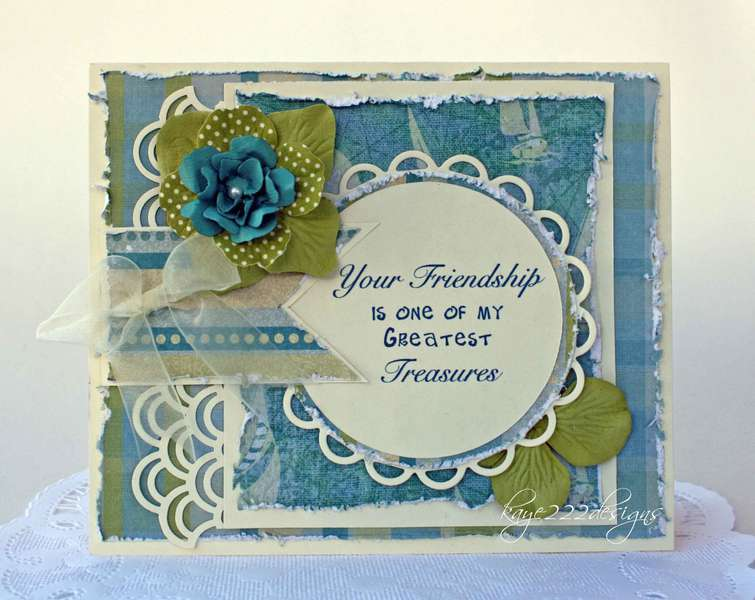 """""""Your Friendship"""" Card"""
