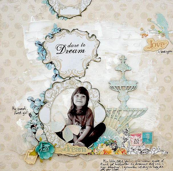 Dare to dream. C`est Magnifique January kit