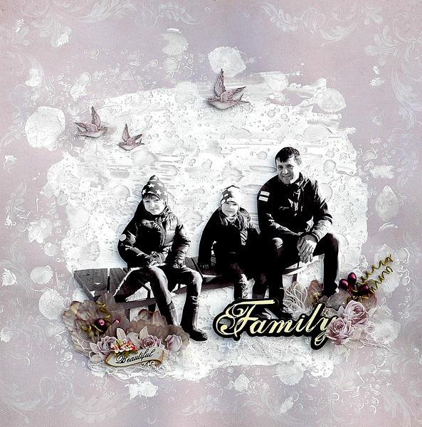 Family - C`est Magnifique April kit