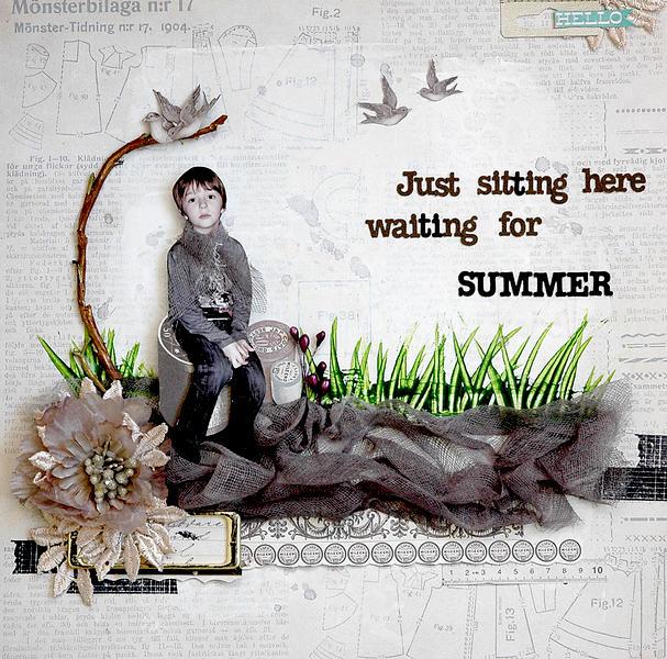Waiting for summer - C`est Magnifique April kit
