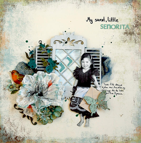 My sweet, little senorita - C`est Magnifique March kit