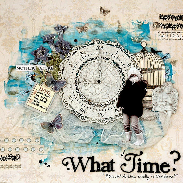 What time? C`est Magnifique January kit