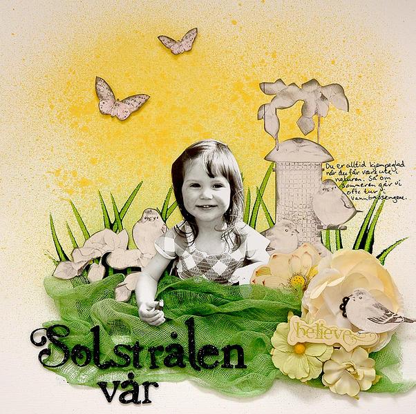 Solstrålen vår - C`est Magnifique January kit