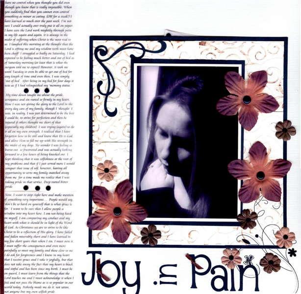 Joy in Pain