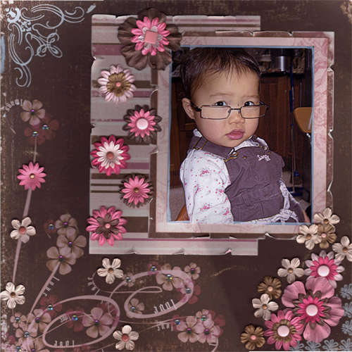 Herdis with glasses