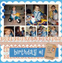 Birthday #1 (Sweet Baby Jake)