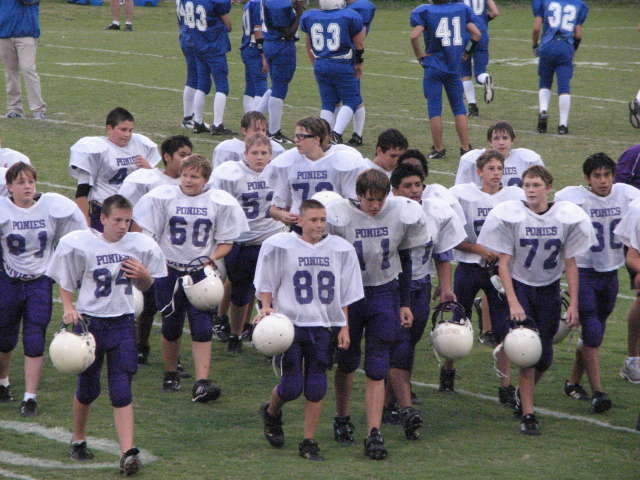 Mini Challenge - A group of happy football players