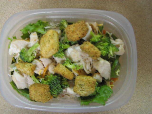 #2. A Salad - 6 pts