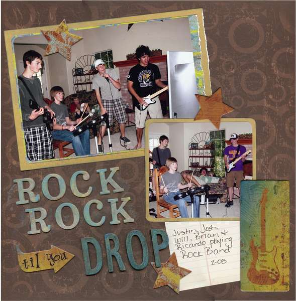 Rock Rock 'til You Drop