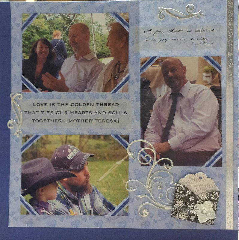 Families - Wedding Scrapbook