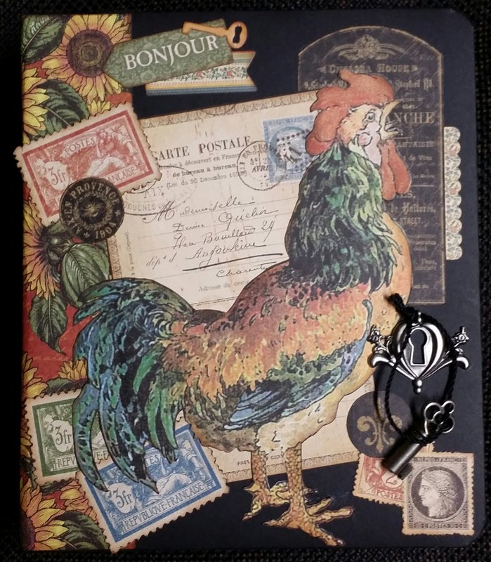 FRENCH COUNTRY Photo Journal - FRONT COVER - Graphic 45