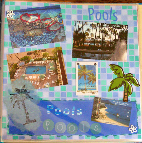 Pools at the Hilton Village