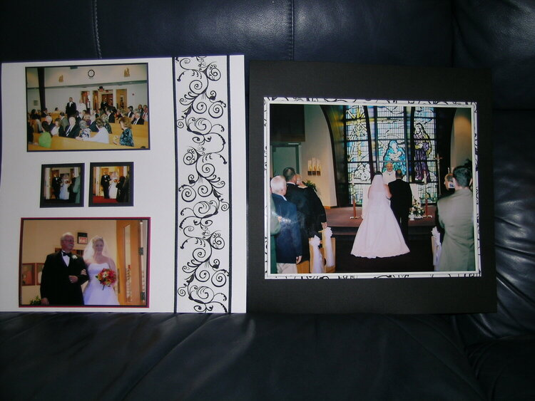 2 wedding pages