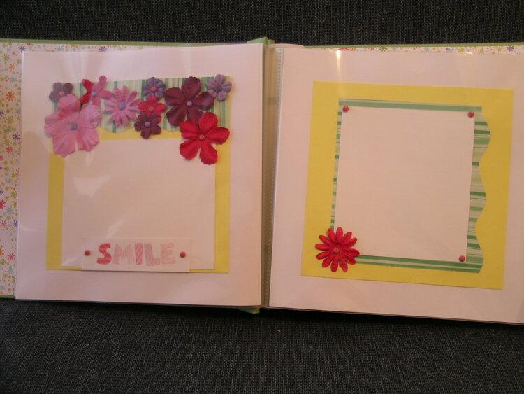 Shower Gift- Baby Girl Album