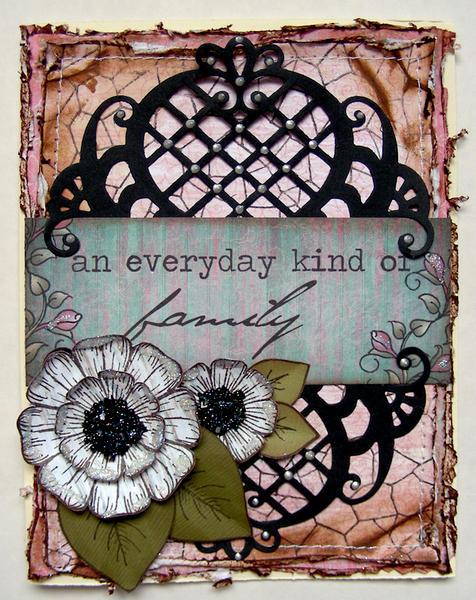 an everyday kind of family card {Heartfelt Creations DT}
