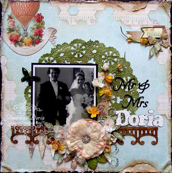 "Mr & Mrs Doria  {May 2013 ""Spring into May"" Kit}"