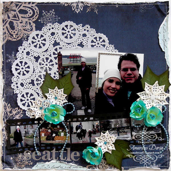 Seattle {ScrapThat! January Kit Reveal}