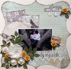 always by your side {ScrapThat! June Kit Reveal}