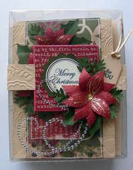 9 Christmas cards boxed set