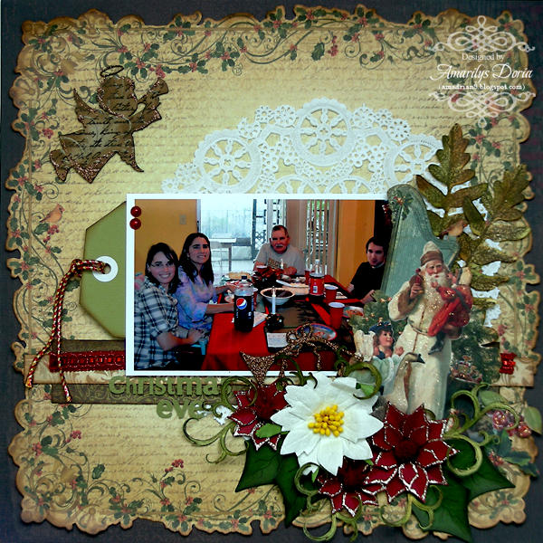 Christmas Eve {ScrapThat! December Kit Reveal}