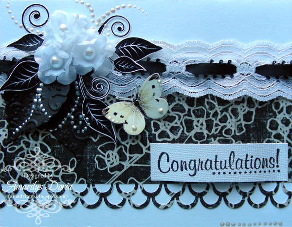 congratulations card NSD-Snail Mail Challenge