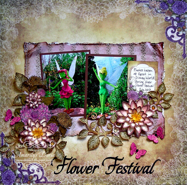 Flower Festival {Heartfelt Creations DT}