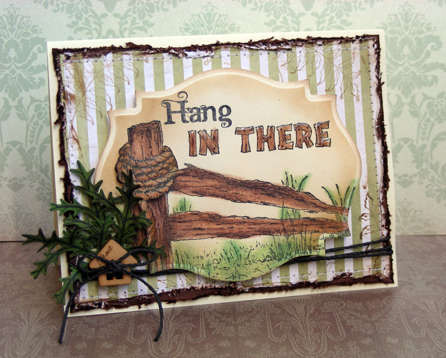 Hang in There Card {Heartfelt Creations DT}
