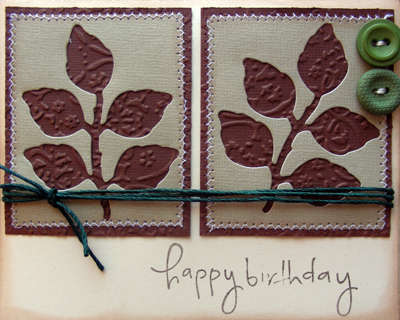 Happy Birthday masculine card {A Walk Down Memory Lane DT}