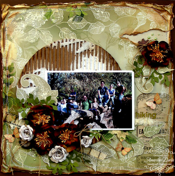 """hiking {ScrapThat! March """"New Blooms"""" Kit}"""