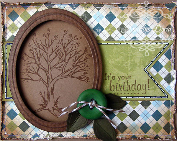 it's your birthday masculine card {AWDML DT}