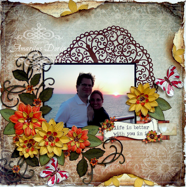 """""""life is better with you in it"""" {Heartfelt Creations DT}"""