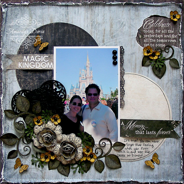 Magic Kingdom {Heartfelt Creations DT}