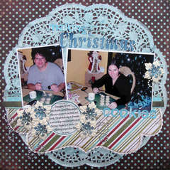 making Christmas Cookies {A Walk Down Memory Lane DT}