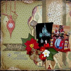 Mickey's Very Merry Christmas {ScrapThat! December Kit Reveal}