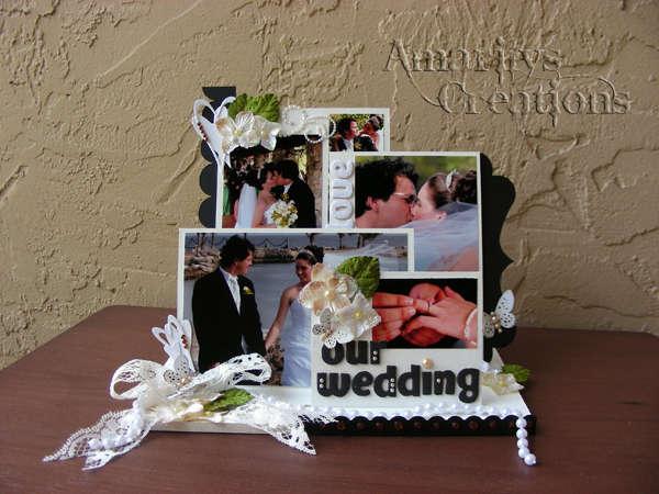 Our Wedding Photo Frame *Kaisercraft*
